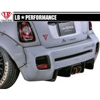 【M's】 MINI R56 LB☆STANCE エアロ リア ディフューザー //リヤ R デフューザー/BMW ミニ クーパー LB☆PERFORMANCE Cooper Body kit FRP リバティウォーク