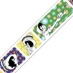 12個までメール便可 mt マスキングテープ 手塚キャラクターズ 1巻入りパック リボンの騎士×フラワーパターン MTTOPR02 18mm×7m