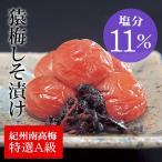 [梅干し]猿梅しそ漬け100g(味見用) 梅干しの最高品種・和歌山県産紀州南高梅