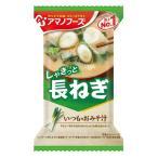 アマノフーズ いつものおみそ汁 長ねぎ(10食入り)/ フリーズドライ味噌汁 インスタントお味噌汁 天野実業 [foo]