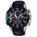 カシオ エディフィス EDIFICE 腕時計 メンズ ウオッチ レースラップクロノグラフ Bluetooth スマートフォンリンク ケブラー EQB-800BL-1AJF 国内正規品 送料無料