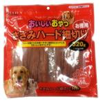(まとめ)ペットプロおいしいおやつ ささみハード細切 お徳用 320g(160g×2袋)(ペット用品・犬フード)〔×20セット〕【商工会会員店です】