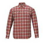 Yahoo!園芸ネット送料無料 スコーロン・フィフスチェックシャツ・レッド男性用Mサイズ