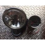 Big-One (ビッグワン) バイク ヘッドライト H4 4.5inch ベーツライト Crystal &LED ミニ スピードメーター 機械式【ADVANTAGE】