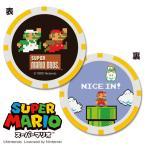 NEW スーパーマリオブラザーズ ゴルフマーカー(チップタイプ)【マリオ&ルイージ】