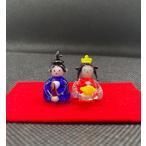 ひな人形(雛人形) 豆雛人形 ひなまつり ガラス細工 雑貨 置物