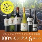赤・白ワインセット / 100% モンテス6本セット MM7-1 / 750ml x 6 / 送料無料