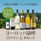 白ワインセット  /  絶対に外さない白ワイン6本セット�ヨーロッパを満喫する白ワイン� WW11-1  /  750ml x 6  /  送料無料