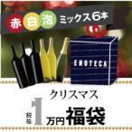 ワインセット / クリスマス福袋1万円(赤白泡ミックス6本) XF11-2 / 750ml x 6 / 送料無料