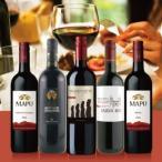 赤ワインセット / エノテカ売れ筋赤ワイン5本セット RC12-2 / 750mlx5 / 送料無料