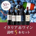 ワイン ワインセット  イタリア赤ワイン満喫5本セット