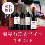 ワイン ワインセット エノテカ厳選!超売れ筋赤ワイン5本セット RC3-1 [750ml x 5] 送料無料