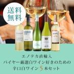 ワイン ワインセット エノテカ直輸入 バイヤー厳選白ワイン好きのための辛口白ワインセット EB3-2 [750ml x 5] 送料無料
