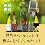 ワイン ワインセット  世界のシャルドネ飲み比べ6本セット WW4-1 [750ml x 6]