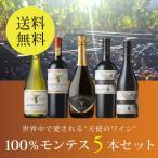 ワイン ワインセット 100% モンテス5本セット MM6-1