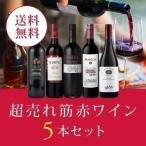 ワイン ワインセット エノテカ厳選!超売れ筋赤ワイン5本セット RC8-1 [750ml x 5] 送料無料