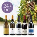 ショッピングワイン ワイン ワインセット 品種で愉しむブルゴーニュワイン赤白5本セット BR9-1 [750ml x 5] フランス ブルゴーニュ
