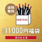 ワイン ワインセット 税込11,000円福袋 赤のみ6本 PF9-1 [750ml x6] 送料無料 ワイン福袋