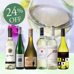 ショッピングワイン ワイン ワインセット 白ワインセット キレ旨白ワイン6本セット WW9-2 750ml x 6 送料無料