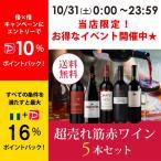 ワイン ワインセット エノテカ厳選!超売れ筋赤ワイン5本セット RC10-1 [750ml x 5] 送料無料