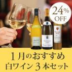 白ワインセット / 1月のおすすめ白ワイン3本セット KK