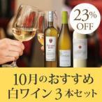 白ワインセット / 10月のおすすめ白ワイン3本セット KK10-2 / 750mlx3