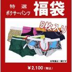 ボクサーパンツ 男性下着 メンズ インナー 超特価!【5枚入り】 詰込み福袋!  エンスタイル fs03