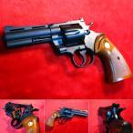 COLT PYTHON パイソン .357Mag 4inch Rモデル HW ガスガン (18歳以上) 「シティーハンターの愛銃」 タナカ