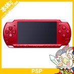 PSP 「プレイステーション・ポータブル」 ディープ・レッド バリューパック (PSPJ-2000) 本体 のみ PlayStationPortable SONY ソニー 中古 送料無料