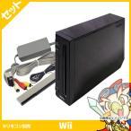ショッピング本体 任天堂 ニンテンドー Wii本体 クロ 5点セット 中古