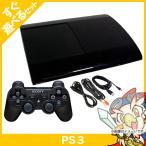 PS3 プレステ3 PlayStation 3 500GB チャコール・ブラック (CECH-4000C) SONY ゲーム機 中古 すぐ遊べるセット 送料無料