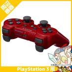 PS3 プレステ3 ワイヤレス コントローラー 純正 デュアルショック3 赤 ディープ・レッド 中古 送料無料