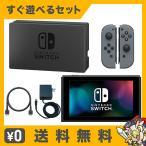 Switch Nintendo Switch Joy-Con (L) / (R) グレー 本体 すぐ遊べるセット Nintendo 任天堂 ニンテンドー 中古 送料無料