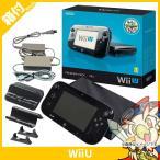 ショッピングWii Wii U プレミアムセット 本体 kuro 黒 中古 付属品完品