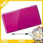 3DS ニンテンドー3DS 本体 タッチペン付き グロスピンク 中古 送料無料