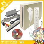 Wii 本体 すぐ遊べるセット シロ おまけソフト付き 中古 送料無料