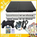PS2 本体 中古 非純正 コントローラー 1個付き おまけ PS2 ソフト 1本付き すぐ遊べるセット プレステ2 SCPH 75000CB CW SS メモカ付き 送料無料