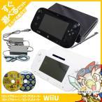 Wii U 本体 スプラトゥーン マリオメーカー ソフト 選べる プレミアム セット 純正 ゲームパッド すぐ遊べる 充電ケーブル 付き お得セット 中古 送料無料