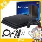 PS4 プレステ4 プレイステーション4 Pro ジェット・ブラック 1TB (CUH-7100BB01) 本体 完品 外箱付き PlayStation4 SONY ソニー 中古 送料無料