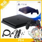 PS4 本体 ジェット・ブラック 1TB (CUH-2200BB01) 完品 中古 送料無料