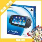 PSVita PlayStation Vita 3G/Wi-Fiモデル クリスタル・ブラック 限定版 (PCH-1100AB01) 本体 完品 外箱 PlayStationVita SONY ソニー 無料