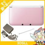 3DSLL ニンテンドー3DS LL ピンクXホワイト 本体 すぐ遊べるセット Nintendo 任天堂 ニンテンドー 中古 送料無料