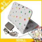 3DSLL ニンテンドー3DS LL とびだせ どうぶつの森パック 本体 すぐ遊べるセット Nintendo 任天堂 ニンテンドー 中古 送料無料