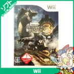 Wii ニンテンドーWii モンスターハンター3 トライ ソフト ケースあり Nintendo 任天堂 ニンテンドー 中古 送料無料