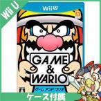 WiiU ゲーム&ワリオ ソフト ケースあり Nintendo 任天堂 ニンテンドー 中古 送料無料