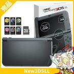 ショッピング本体 New3DSLL New ニンテンドー3DS LL メタリックブラック RED-S-VAAA 本体 完品 外箱付き Nintend ニンテンドー 任天堂 中古 送料無料