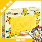 New3DSLL Newニンテンドー3DS LL ピカチュウ イエロー RED-S-YCAA 本体 完品 外箱付き Nintendo 任天堂 ニンテンドー 中古 送料無料