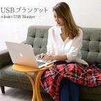 USBブランケット USB Blanket e-kairo ひざ掛け ブランケット 電気ひざ掛け ピンク/チェック クリスマス ギフト イーカイロ あったかグッズ 膝掛け 肩掛け