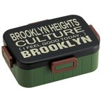 お弁当箱 4点ロックランチボックス 大容量900mlブルックリン/YZFL9