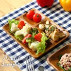 アカシア ランチプレート 木製食器 皿 プレート